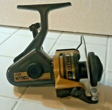 USED Mitchell 430 Graphite Spinning Fishing Reel