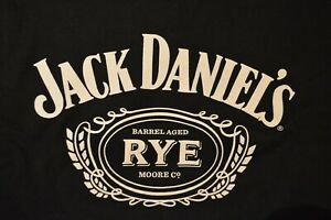 BRAND NEW Official Jack Daniels Rye T-shirt - XL