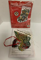 Needle Treasures Dazzling Ornament Stocking Christmas Counted Cross Stitch Kit