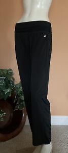 RoadRunner Sport Running Athletic Training Pants Women's Size S Black Stretch