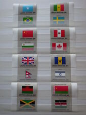 16x stamps ONU Nations Unies UN United Nations NEW YORK Flags 1983 NH**  2x (V)