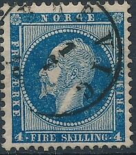 [56382] Norway 1856 good Used Very Fine stamp