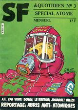 Fanzine SF & Quotidien 3 - Van Vogt, Frémion, Jouhanne... - janvier 1981