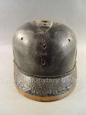 Pickelhaube, Feuerwehrhelm/haube nur der Korpus aus der Zeit vor 1930, 97134