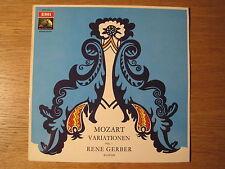 "Rene Gerber ""Mozart: Piano Variations Vol 1"" orig M- Test Pressing"