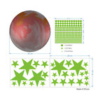 Luminous Stars Ball And Stars Wall Stickers For Kids Room Home Decoration Decals