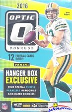 2016 Donruss Optic Football EXCLUSIVE Factory Sealed Hanger Box-Purple Parallels