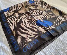 Guess Tiger Print Scarf