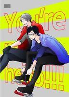 *Yuri!!! on Ice YAOI Doujinshi ( Victor x Yuri Katsuki ) You're my hero!!! NEW!!