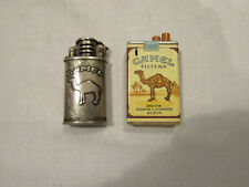 Two Vintage Camel Lighters Not Tested!