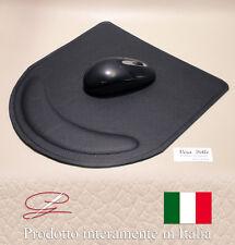 PREGIATISSIMO TAPPETINO PER MOUSE IN VERA PELLE - MADE IN ITALY - IDEA REGALO