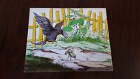 Charles Vess original painting. Signed. Early piece dated 1975