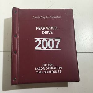 Daimler Chrysler Corp 2007 Rear Wheel Drive Global Labor Operation Time Schedule