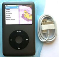 Apple iPod Classic 160GB 7th Gen Black - Fully Refurbished! Mint Condition!