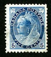 Canada Stamps # 79 VF Jumbo Used