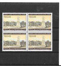 Autriche (Austria/Österreich) - 1980 -WIPA en bloc de 4 timbres neufs **(MNH)
