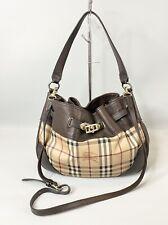 Burberry Haymarket Check Pvc Satchel 2 Way Bag