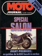 MOTO JOURNAL  381 Essai Road Test SUZUKI GS 850 HONDA XR 250 YAMAHA TZ 350 1978