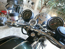 BSA A65 TRIUMPH  T120 T140 TSX TSS OIL GAUGE KIT SIMPLE ILLUMINATED