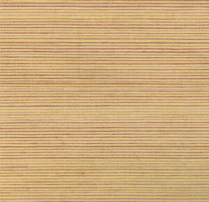 York Sisal Grasscloth Wallpaper in Peach, Gold, Powdered Burgandy  SN7476