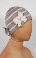 Neuf Joli Coccinelle Tricot Bonnet Ballon Bonnet TAILLE M (49)
