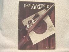 Thompson/Center Arms 1995 gun catalog Mini 22