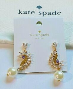 Kate Spade New York White Pearl Earrings