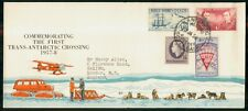 Mayfairstamps ROSS DEPENDENCY EVENT 1958 COVER FIRST TRANS ANTARCTIC CROSSING ww