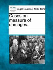 Cases On Measure Of Damages.
