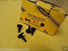 "200 Pack #8 x 1/2"" Wafer Head Self Drilling Tapping Screw Tek Point Black Drill"