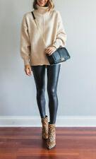 NWT $98 - Faux Leather Spanx, Sz M