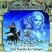 GRUSELKABINETT 3 - DIE FAMILIE DES VAMPIRS  CD NEW