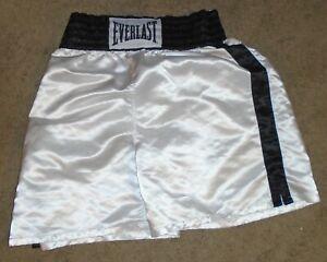 EVERLAST  Shiny Satin Boxing Trunks Shorts Men's Size XL