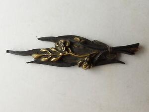 YI359 Menuki Samurai Sword guard Japanese Katana Blade Vintage Geijyutu antique