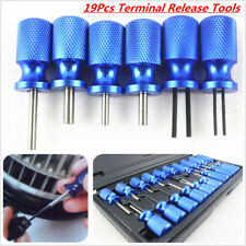 19 XTerminal Release Tool Set Plug Type Connector Remover Master Block With Case