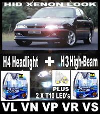 Xenon Look Headlight Bulbs FREE LEDs Commodore VL VN VP VR VS VT VX VY