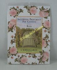 ERBOLARIO Sacchetto profumato x cassetti profumo ROSA sachet drawer scent Rose
