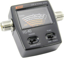 SWR Power Meter NISSEI  RS-40 for KENWOOD YAESU  ICOM TYT Mobile Radio Walkies