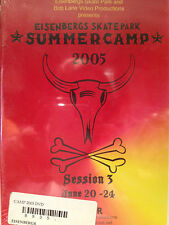 Eisenbergs Skatepark CAMP 2005, SESSION 3, SKATEBOARD, ROLLERBLADE, BMX dvd, new