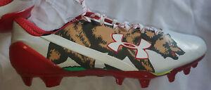 Under Armour Spotlight Bear Grizzley California  SIZE 12  Men Cleats 1275481-130