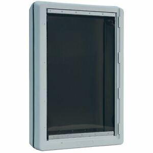 "Ideal Pet Products Ruff-Weather Pet Door Super Large Grey 5.75"" x 19"" x 28.12"""