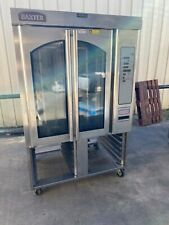 Baxter Hobart Gas mini rack oven steam injected stand bakery bread Ov310G