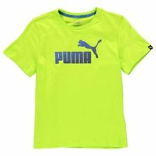 PUMA Crew Neck Logo T-Shirts & Tops (2-16 Years) for Boys