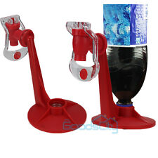 2X Red Drinking Soda Water Fizz Drinks Dispense Gadget Fridge Saver Dispenser