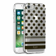 iLuv DotStyle Dual Material Protective Case For iPhone 7 Plus & iPhone 8 Plus