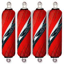 Red Shock Covers Honda Racing ATV TRX 700 TRX700 XX (For 4 shocks models)