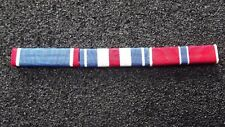 ^ Ordensspange WWII mit 3 Ribbons:  Armycross Silver Star Bronze Star,