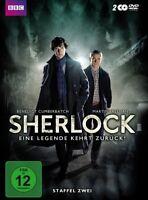 Sherlock - Eine Legende kehrt zurück! Staffel zwei [2 DVDs](NEU/OVP)