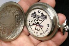 VINTAGE  RUSSIAN POCKET WATCH MOLNIA MOLNJIA  NORILSK 1953-1993. RARE