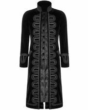 "Mens Gothic Steampunk Wedding Regency Long Jacket Coat Sizes 36""R- 54"" R,S & L"